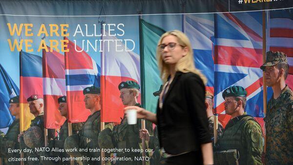 Na polyax sammita NATO v Bryussele. Rekadrirovannыy. - Sputnik Oʻzbekiston