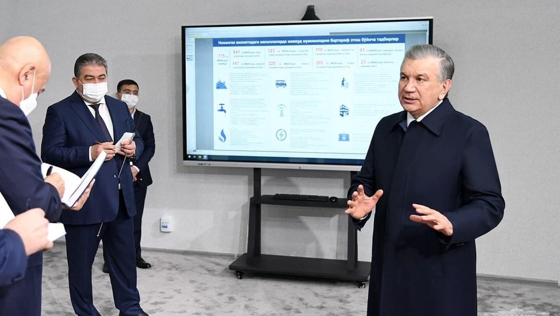 Мирзиёев посетил МПЗ Даштбог - Sputnik Узбекистан, 1920, 18.02.2021
