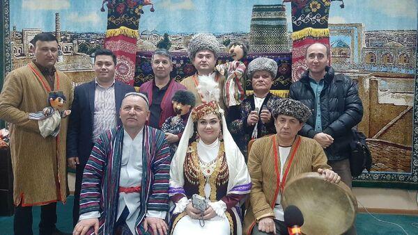 Артисты хорезмского народного театра кукол Джайхун - Sputnik Узбекистан