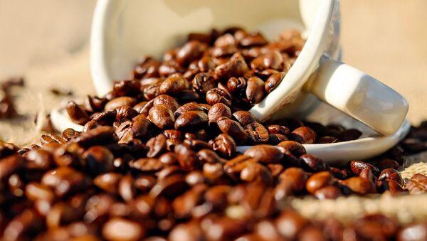 Кофейные зерна в чашке - Sputnik Узбекистан