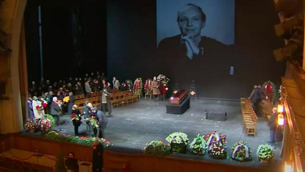 Прощание с народным артистом Андреем Мягковым - Sputnik Узбекистан