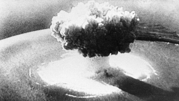 Ядерный взрыв - Sputnik Узбекистан