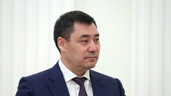 Президент Кыргызстана Садыр Жапаров - Sputnik Узбекистан
