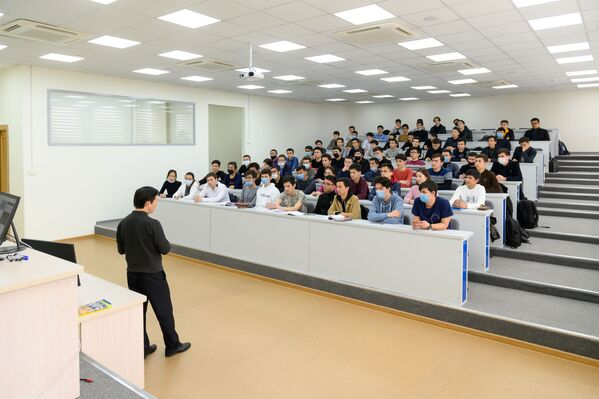 Филиал в Ташкенте открыл свои двери 3 сентября 2019 года. Его цель — подготовить специалистов для развития атомной отрасли в Узбекистане.  - Sputnik Узбекистан