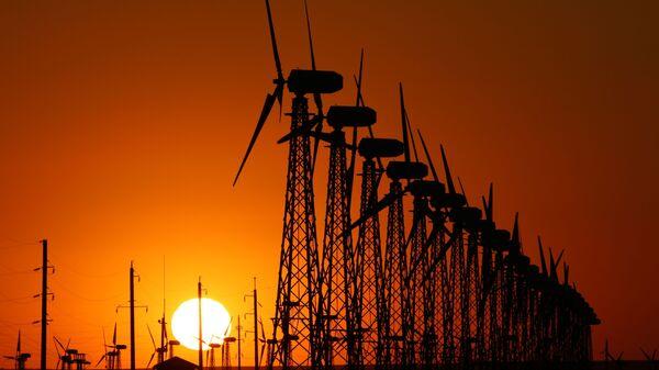 Vetroelektrostantsiya - Sputnik Oʻzbekiston