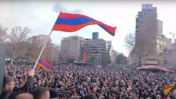 Протесты против Пашиняна: главное о ситуации в Армении - Sputnik Узбекистан