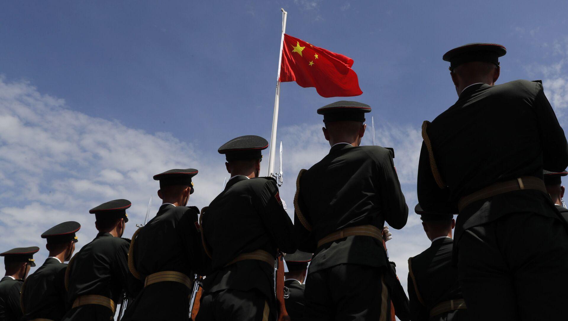 Военные народно-освободительной армии Китая - Sputnik Узбекистан, 1920, 26.02.2021