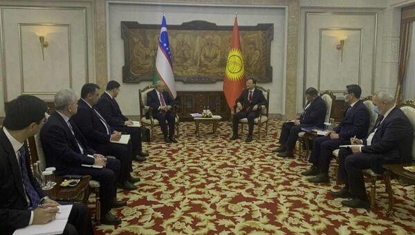 Встреча глав МИД Узбекистана и Кыргызстана - Sputnik Узбекистан