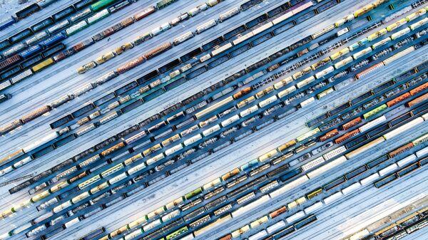 Товарные поезда - Sputnik Узбекистан