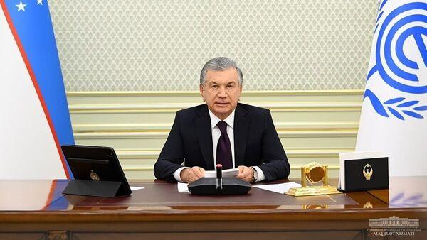 Президент Узбекистана Шавкат Мирзиёев выступил на 14-м саммитеОрганизации экономического сотрудничества (ОЭС) - Sputnik Узбекистан