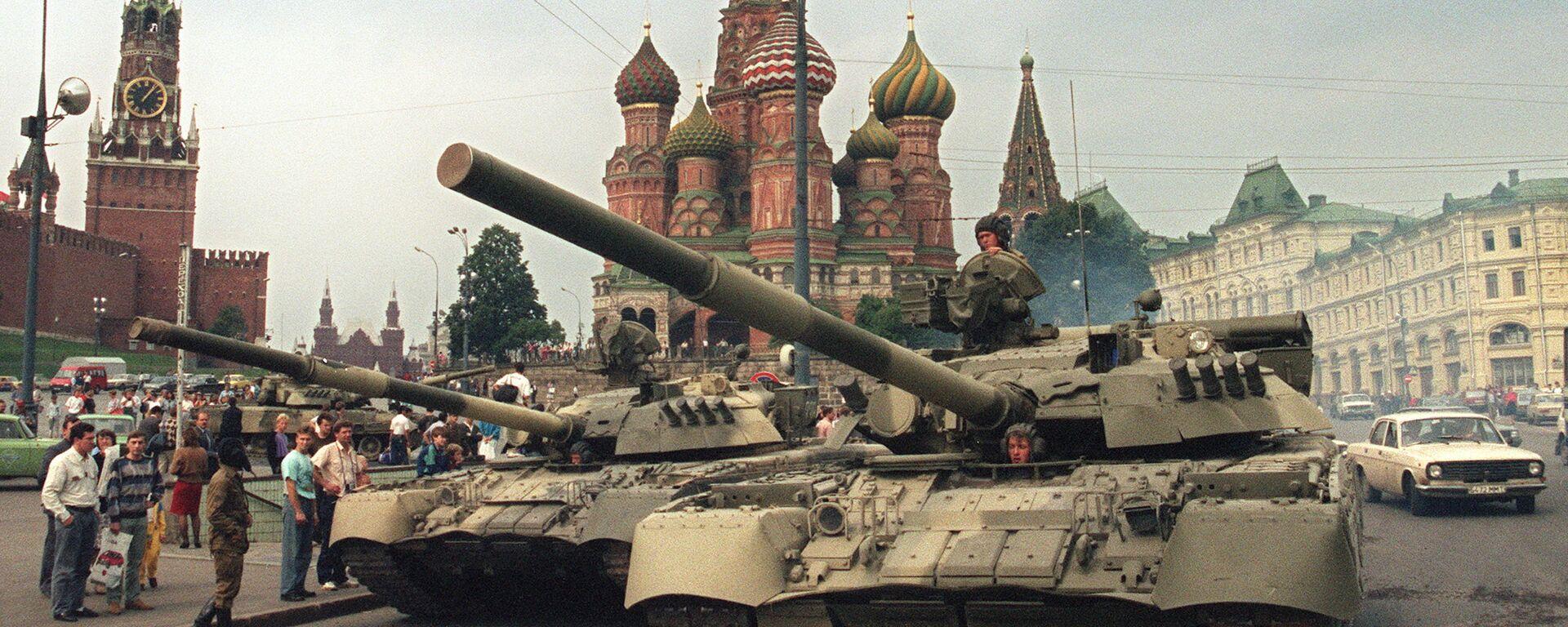 Августовский путч 1991 года - Sputnik Узбекистан, 1920, 09.03.2021