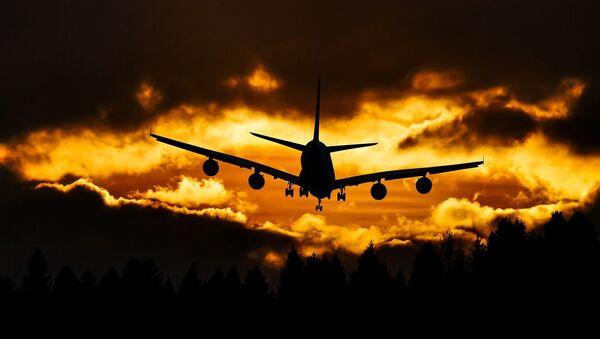 Самолет в небе - Sputnik Узбекистан