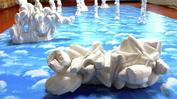 Выставка современного искусства Опыт  в Самарканде - Sputnik Узбекистан