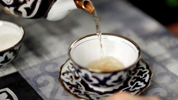 Чай, иллюстративное фото - Sputnik Узбекистан