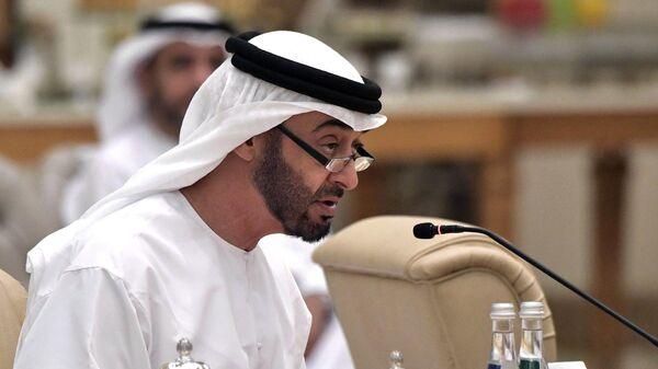 Наследный принц Абу-Даби, заместитель верховного главнокомандующего вооружёнными силами Объединённых Арабских Эмиратов Мухаммед бен Заид Аль Нахайян - Sputnik Узбекистан