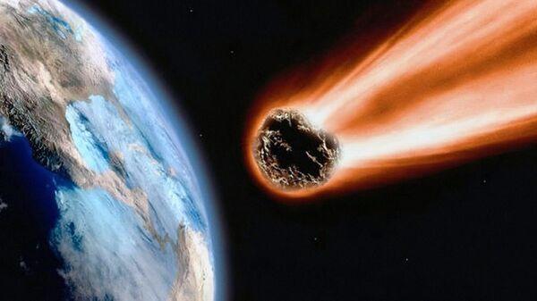 Чрезвычайно редкий метеорит нашли в Великобритании  - Sputnik Узбекистан
