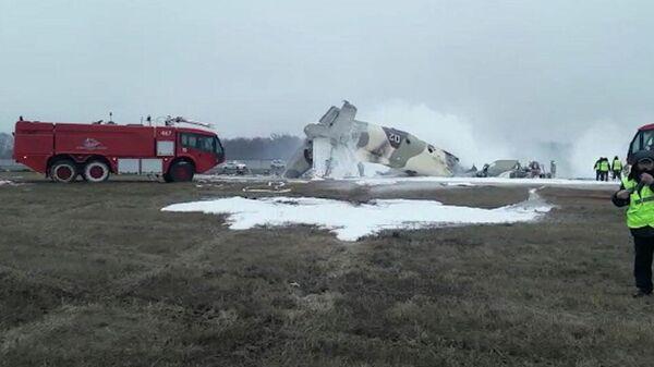 Военный самолет Ан-26 потерпел крушение под Алматы - Sputnik Узбекистан