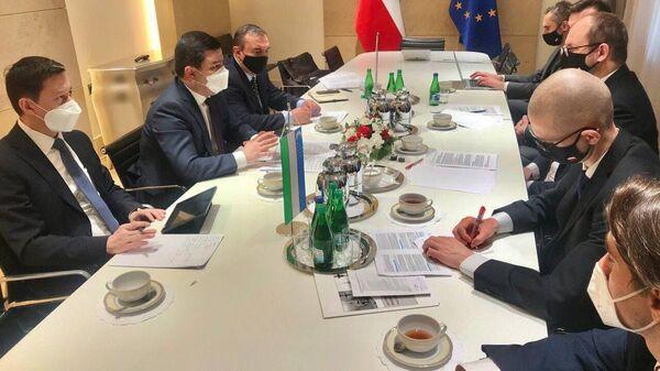 Состоялся 8-й раунд политических консультаций между МИД Узбекистана и Польши - Sputnik Узбекистан