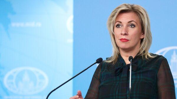 Официальный представитель Министерства иностранных дел России Мария Захарова - Sputnik Узбекистан