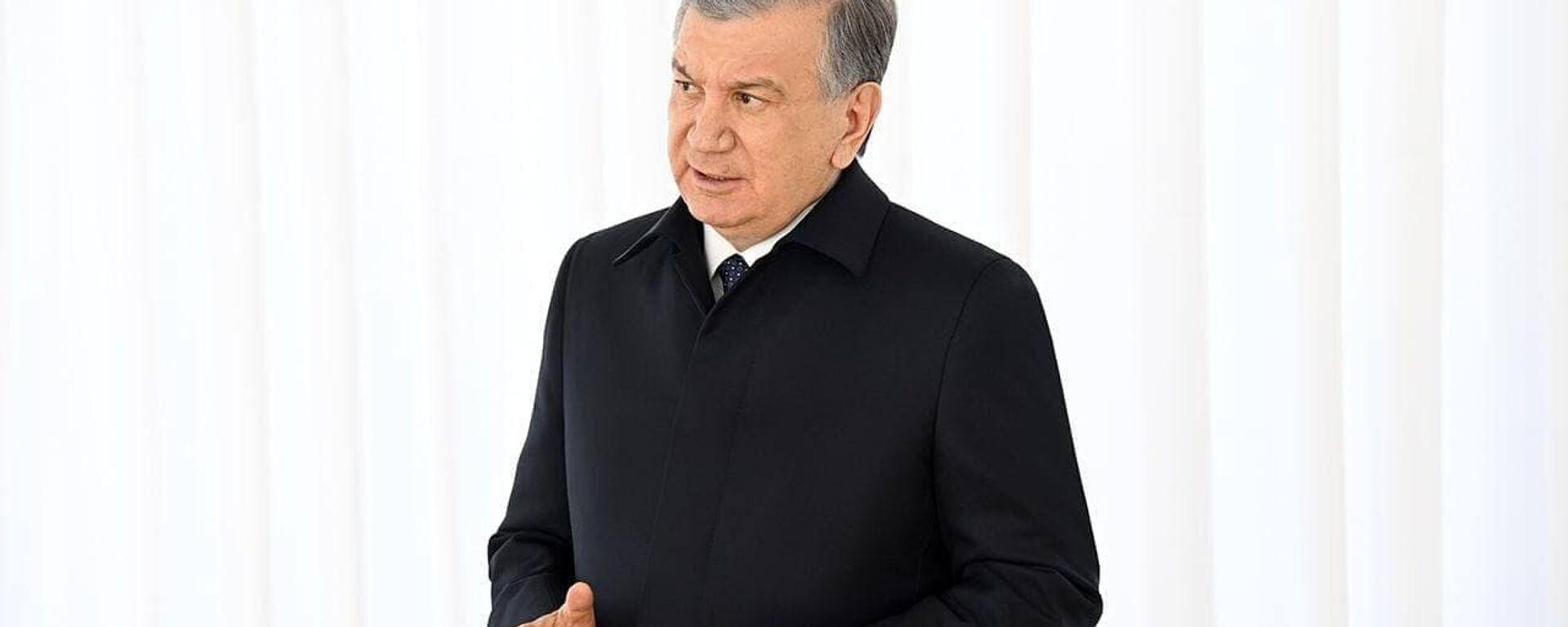Шавкат Мирзиёев посетил махаллю Эшонобод Чиназского района - Sputnik Узбекистан, 1920, 18.03.2021