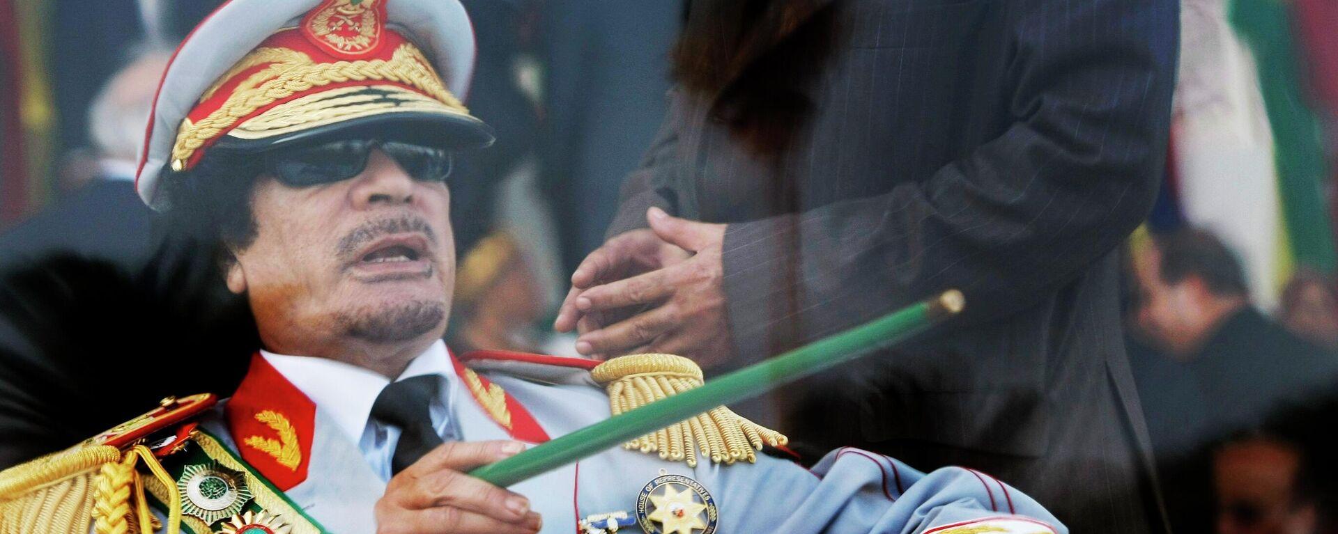 Muammar Kaddafi - Sputnik Oʻzbekiston, 1920, 19.03.2021