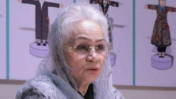 Народная артистка Узбекистана Мукамбар Рахимова - Sputnik Узбекистан