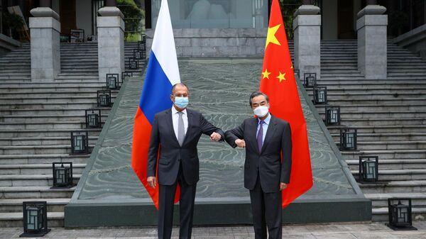 Визит главы МИД РФ С. Лаврова в Китай - Sputnik Узбекистан
