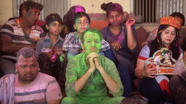 Праздник Холи в Индии - Sputnik Узбекистан