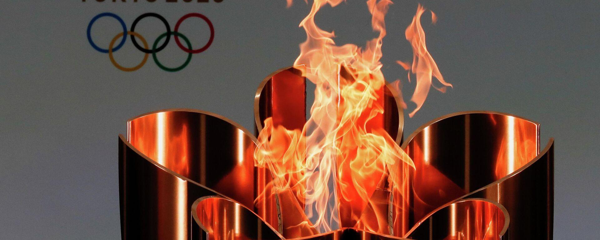 Олимпийский огонь - Sputnik Узбекистан, 1920, 25.06.2021