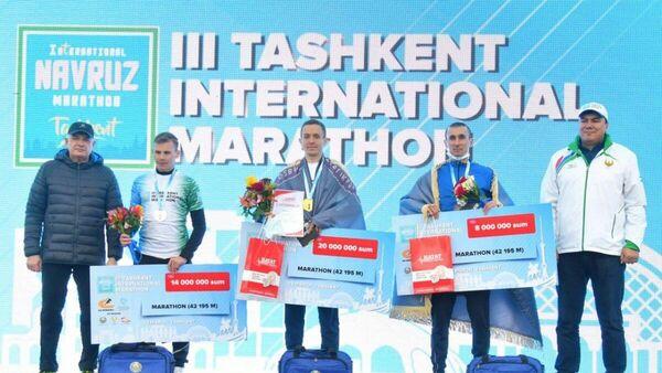 В столице прошел III Ташкентский Международный марафон - Sputnik Узбекистан