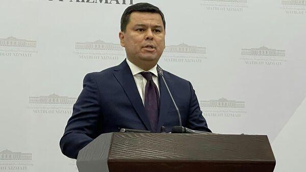 Пресс-секретарь  президента Узбекистана Шерзод Асадов - Sputnik Ўзбекистон