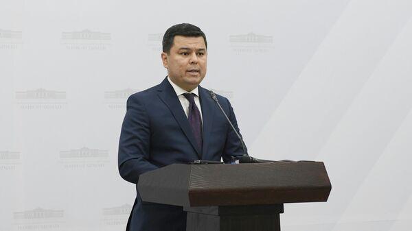 Пресс-секретарь президента Узбекистана Шерзод Асадов - Sputnik Узбекистан