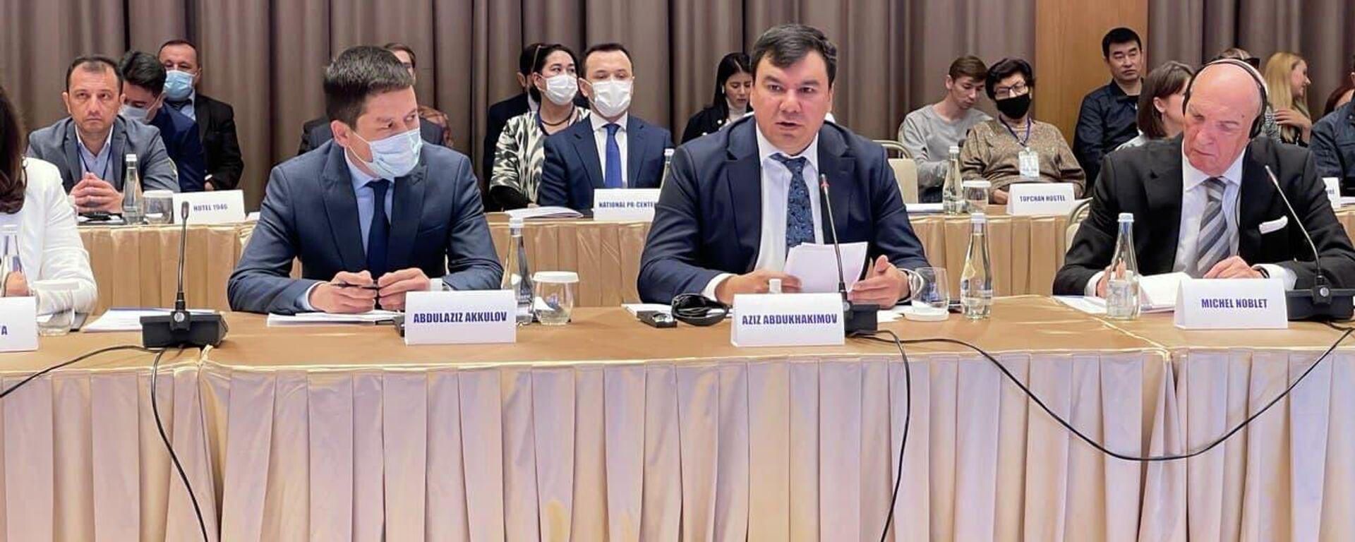 В Ташкенте начался Хотел бизнес форум  - Sputnik Ўзбекистон, 1920, 30.03.2021