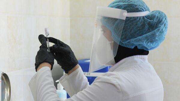 Vaktsinatsiya v Tashkente - Sputnik Oʻzbekiston