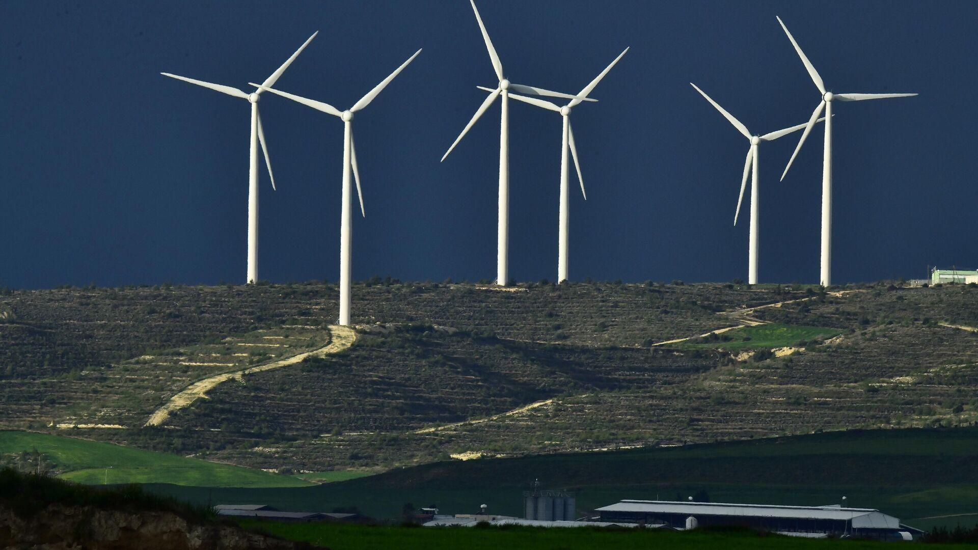 Ветряные электростанции - Sputnik Узбекистан, 1920, 02.04.2021