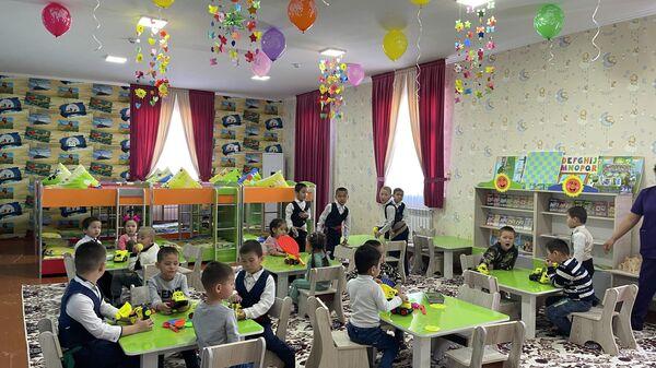Детский садик в Приаралье  - Sputnik Ўзбекистон
