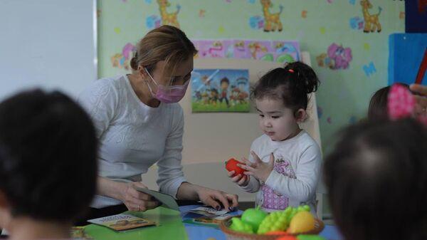 Дети в детском садике, Каракалпакия - Sputnik Узбекистан