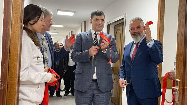 Открытие научно-образовательного и проектного центра АО Гипроцветмет и ОАО Виогем  - Sputnik Ўзбекистон