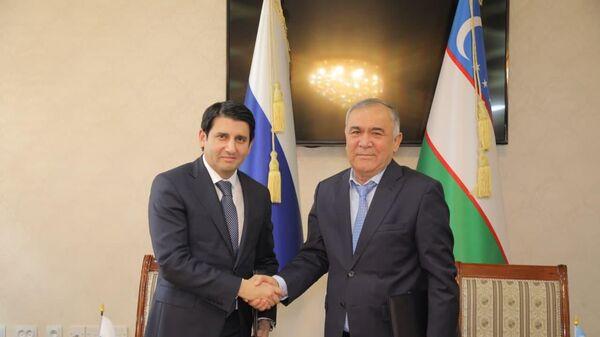 Росэксимбанк и Узбекгидроэнерго подписали соглашение  - Sputnik Ўзбекистон