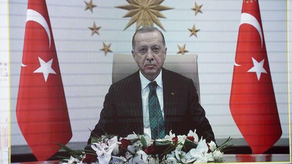 Президент Турции Р. Т. Эрдоган - Sputnik Узбекистан