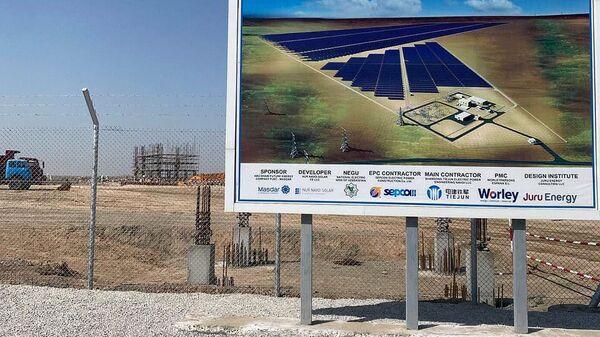 В сентябре будет сдана первая в стране крупная солнечная электростанция - Sputnik Узбекистан
