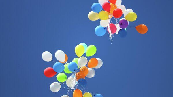 Воздушные шары, иллюстративное фото - Sputnik Узбекистан