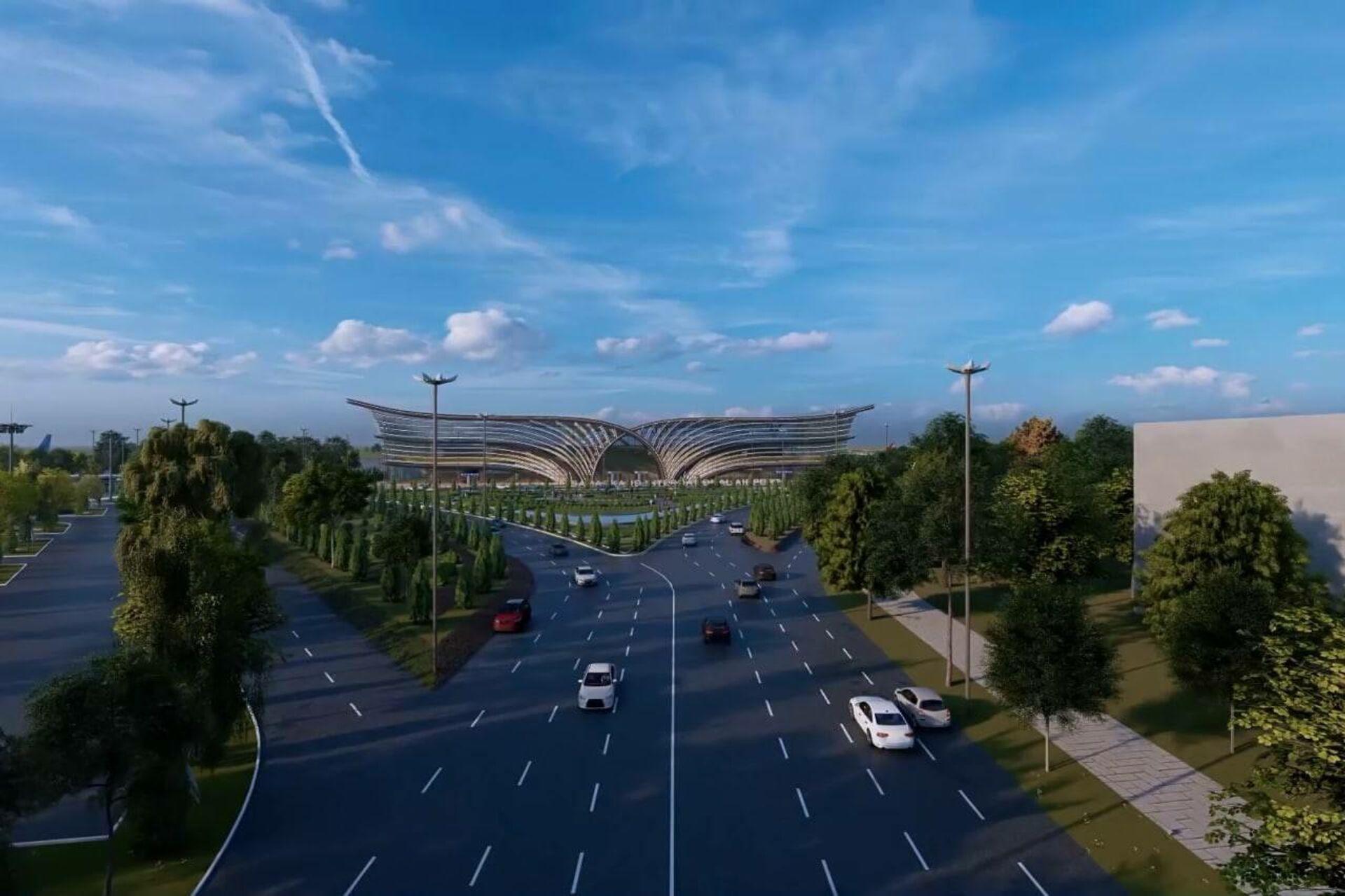 Проект по модернизации и эксплуатации международного аэропорта Самарканда - Sputnik Узбекистан, 1920, 11.04.2021