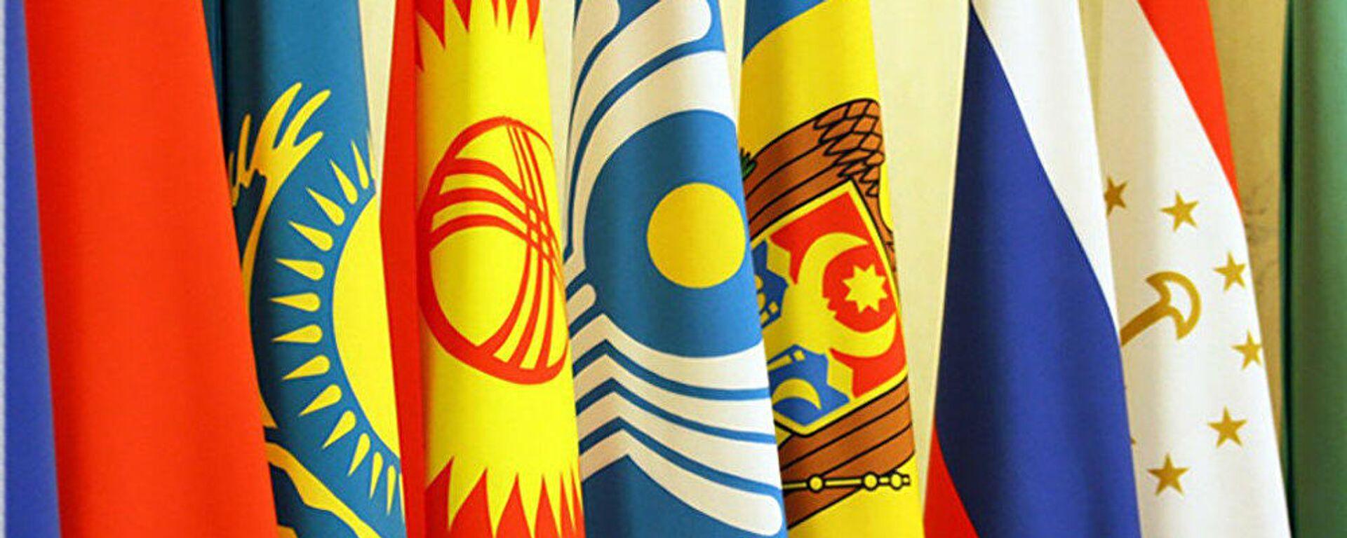 Флаги стран СНГ - Sputnik Узбекистан, 1920, 08.06.2021