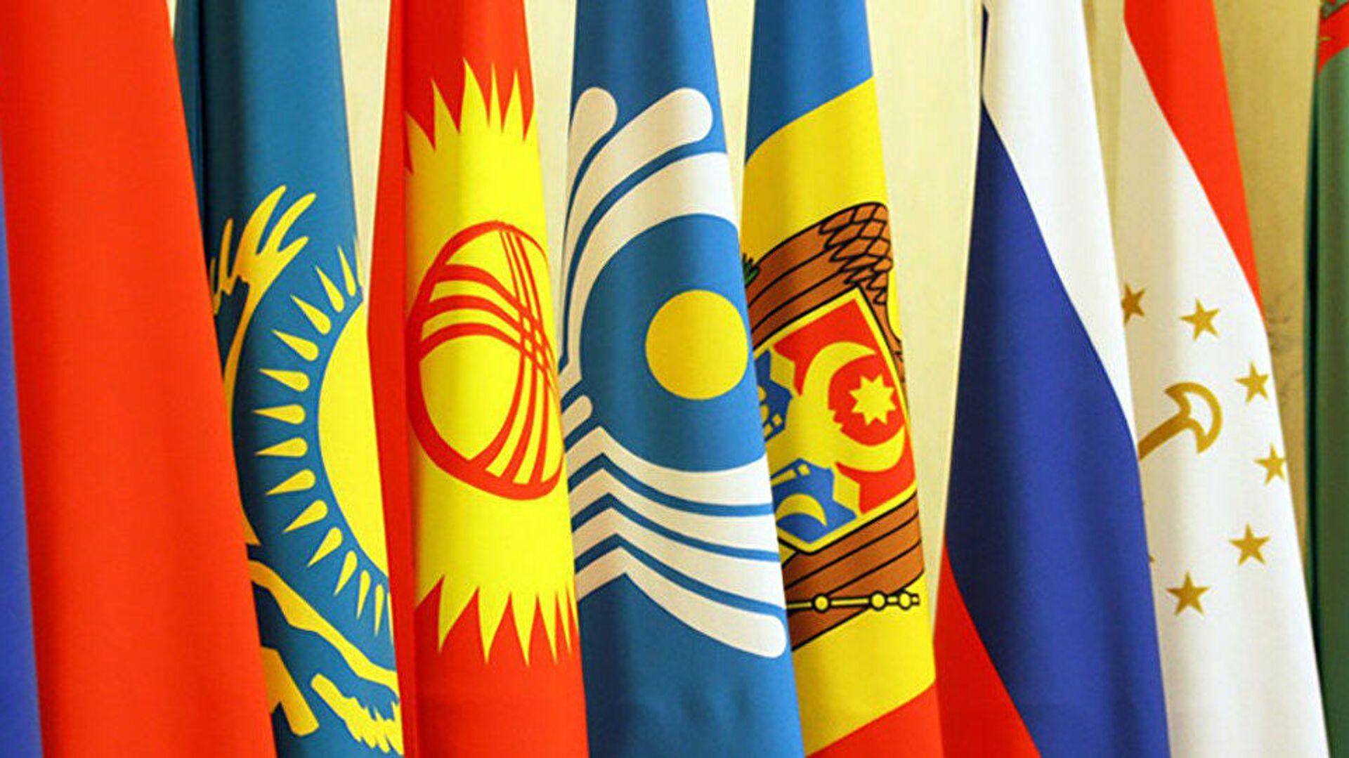 Флаги стран СНГ - Sputnik Узбекистан, 1920, 16.04.2021