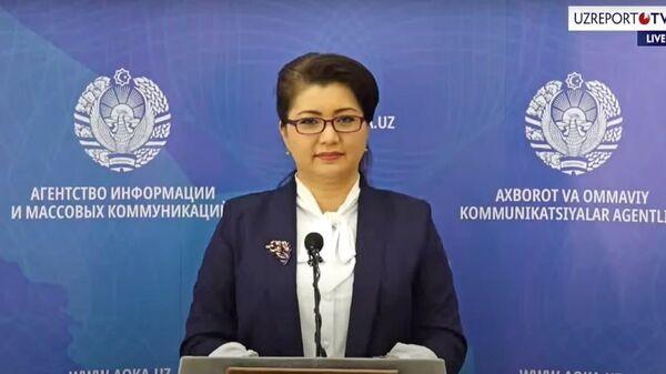 Севара Убайдуллаева - сотрудник штаба по борьбе с коронавирусом - Sputnik Узбекистан