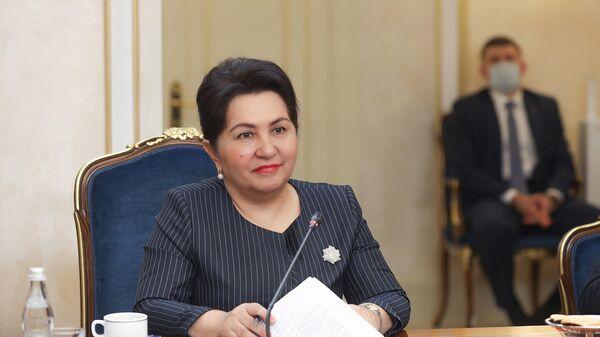 Tanzila Narbayeva vo vremya vizita v RF - Sputnik Oʻzbekiston