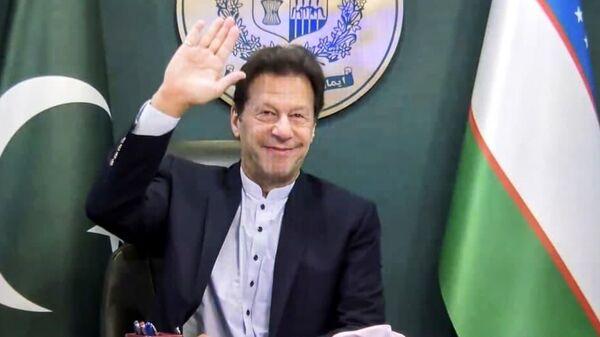Premyer ministra Pakistana Imran Xan - Sputnik Oʻzbekiston