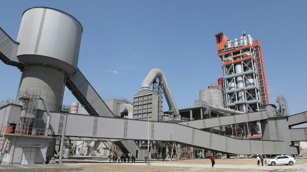 Завод Ахангаранцемент — как будут строить будущее Узбекистана - Sputnik Узбекистан