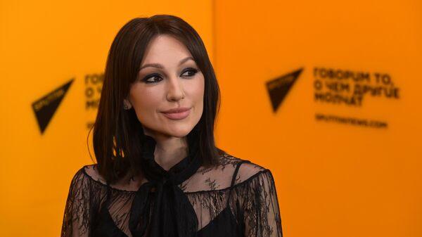 Певица Согдиана во время интервью информационному агенству Sputnik - Sputnik Узбекистан